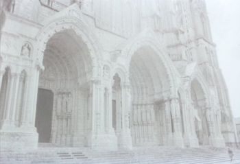 Chartres North porch || Source - Jeff Drouin, 6 July 2004